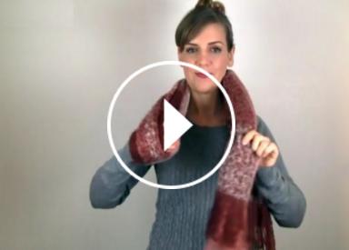 formas muy fciles de llevar una bufanda larga