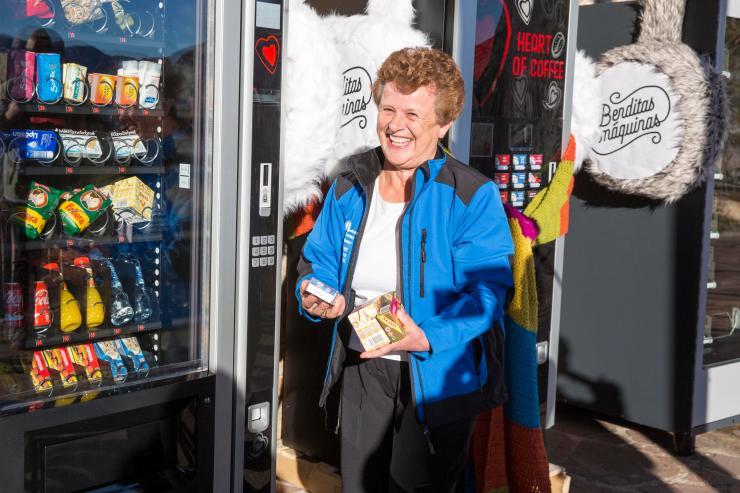 TRESVISO. Maquinas de vending para las nevadas