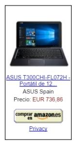 Comprar ASUS T300 Chi en Amazon