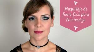 Maquillaje de fiesta fácil para Nochevieja