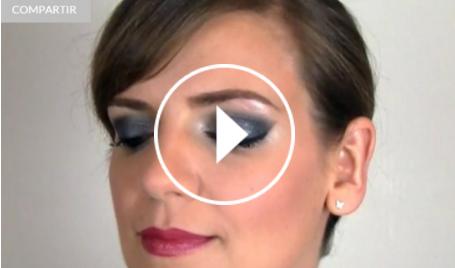 Ver vídeo maquillaje de Nochevieja en Cosmo