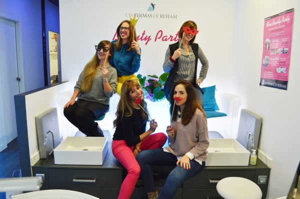 Beauty Party en Las Termas de Ruham Logroño bloggers