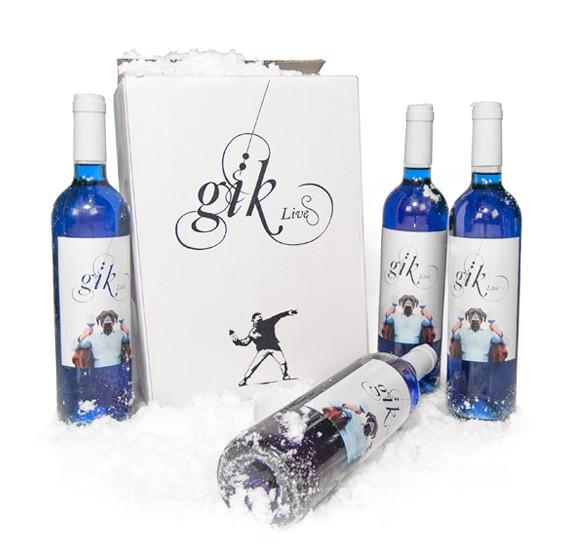 Gïk vino azul