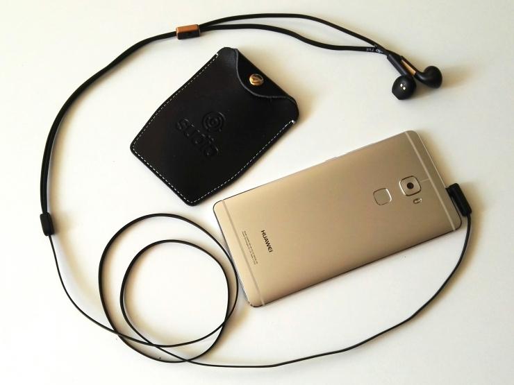 Huawei Mate S y auriculares Sudio TVA