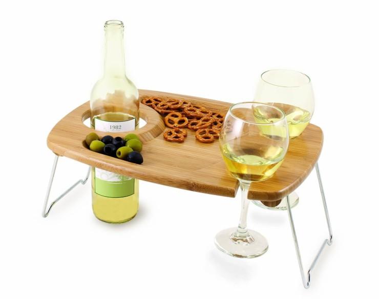 Mesa de picnic para vino en Fancy