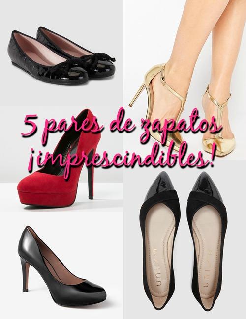 5 zapatos fondo de armario
