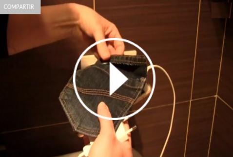 Ver vídeo DIY soporte funda móvil en Cosmo