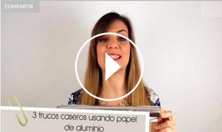 Ver vídeo trucos papel de aluminio en Cosmo