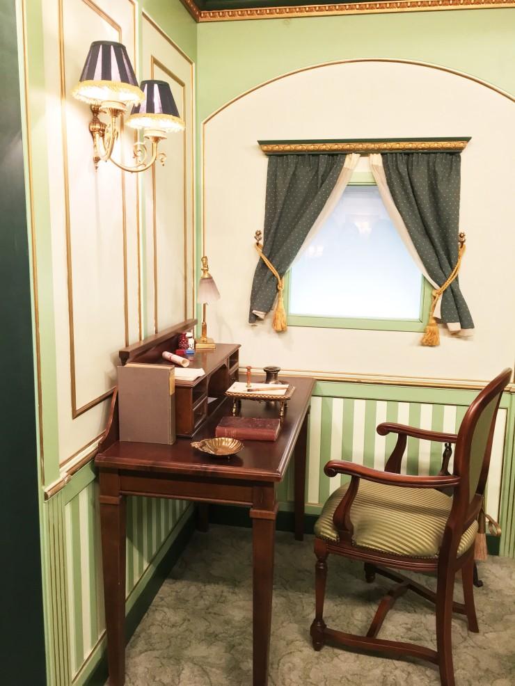 Detalle suite del Titanic