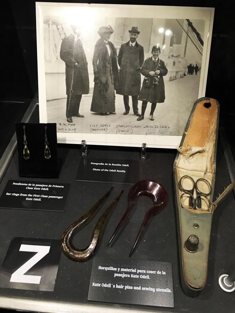 Objetos personales de pasajeros del Titanic