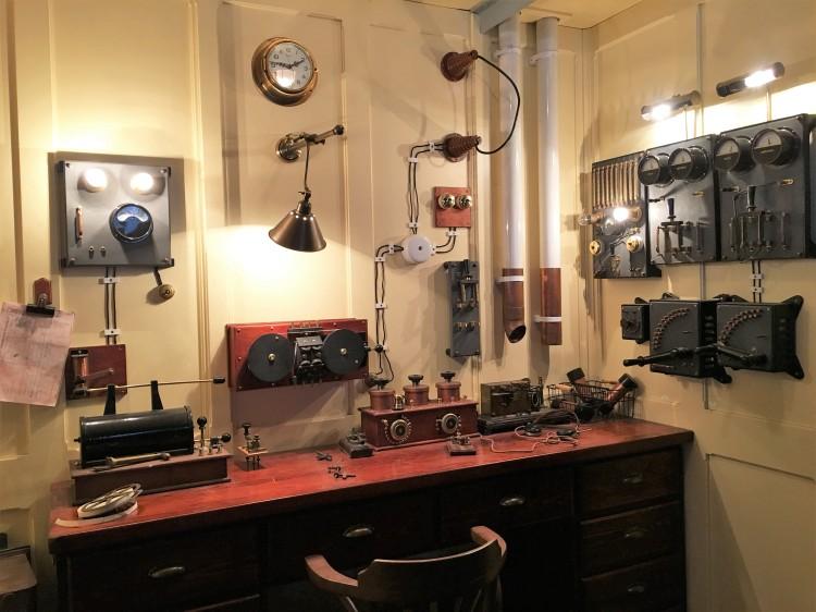 Sala de radio del Titanic