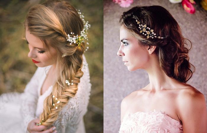 7 peinados de novia fáciles para inspirarte