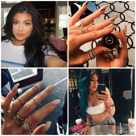 Kylie Jenner manicura 01