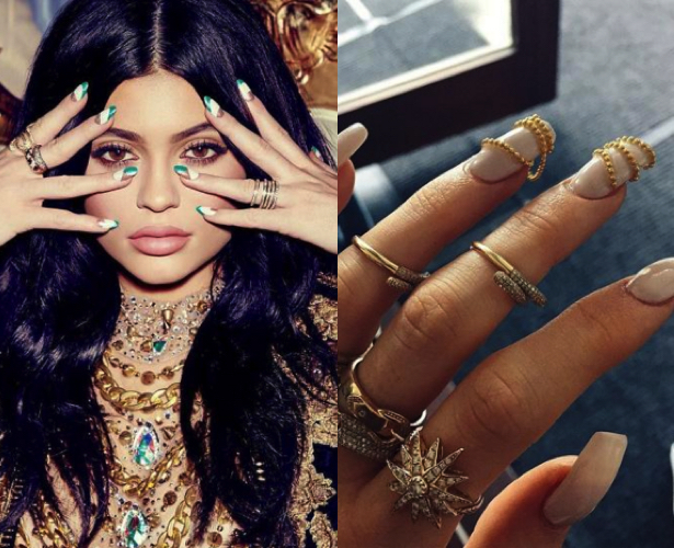 Kylie Jenner manicura destacada