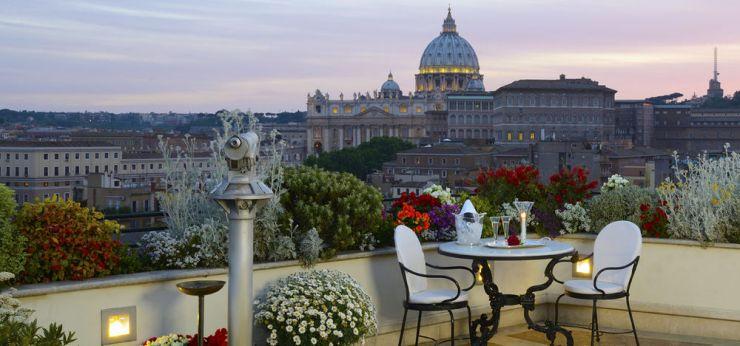 Les Etoiles Roof Garden Atlante Star Roma