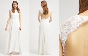 Vestido de novia blanco crema de Unique