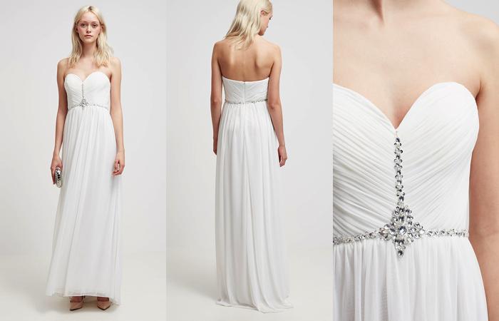 Vestido de novia de estilo griego de Mascara