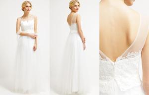 Vestido de novia de tul de Luxuar Fashion