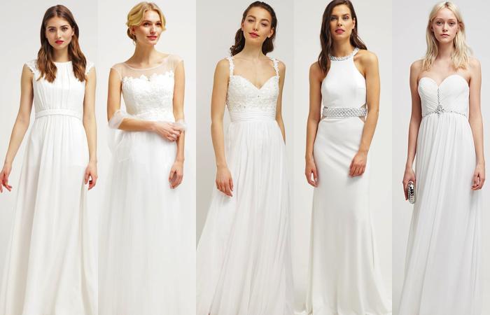 Zalando vestidos fiesta blancos