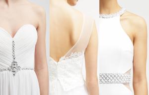 Vestidos de novia low cost de Zalando detalles