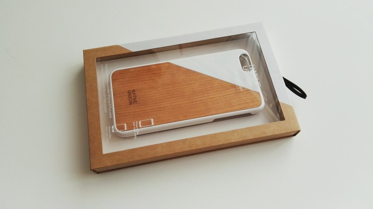 Funda de madera Native Union para iPhone 6s Plus 01