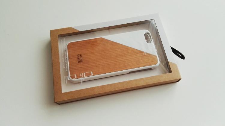 Funda de madera Native Union para iPhone 6s Plus 01