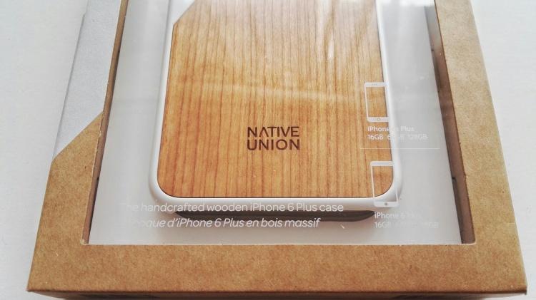 Funda de madera Native Union para iPhone 6s Plus 03