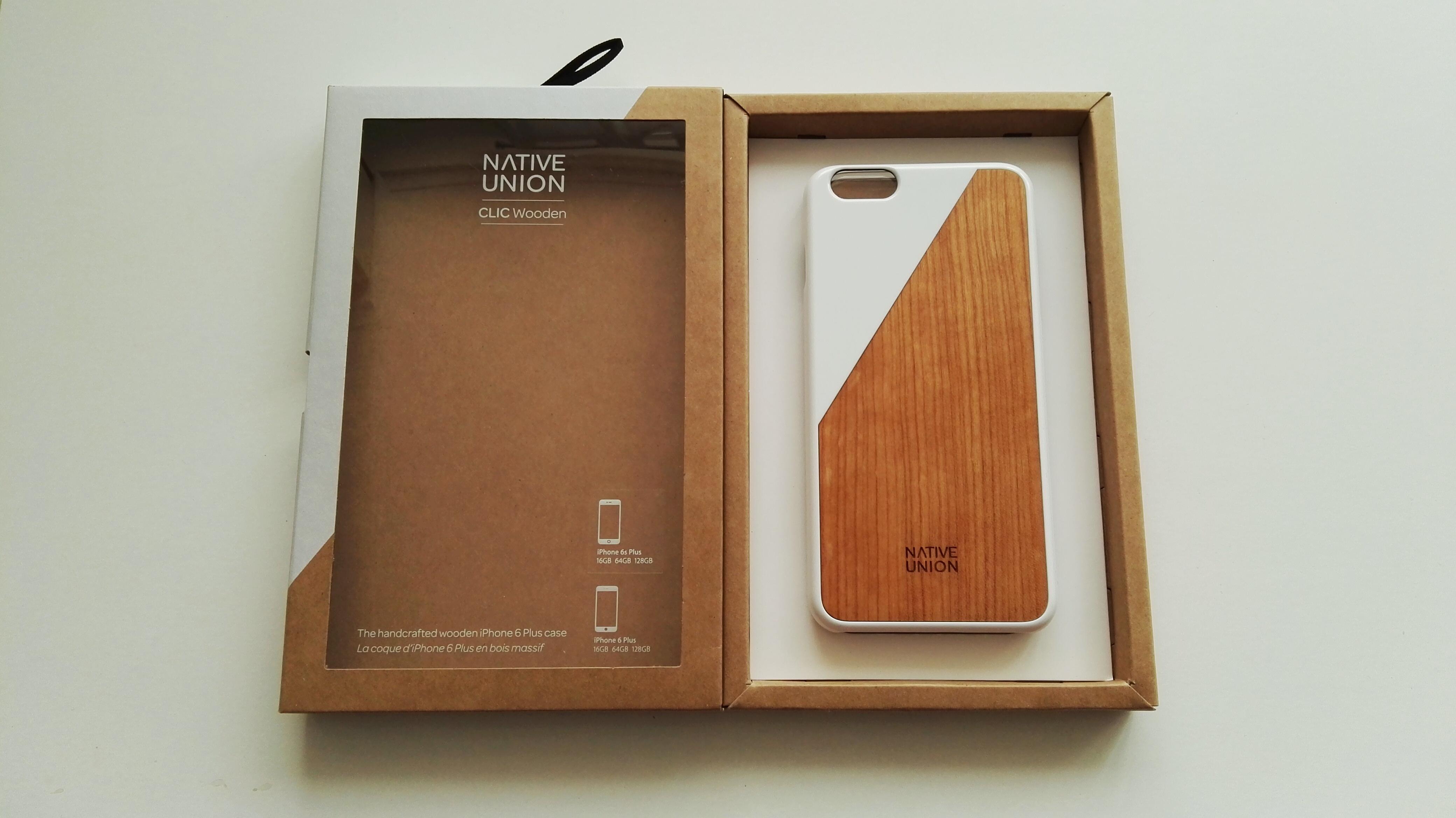 Funda de madera Native Union para iPhone 6s Plus 04