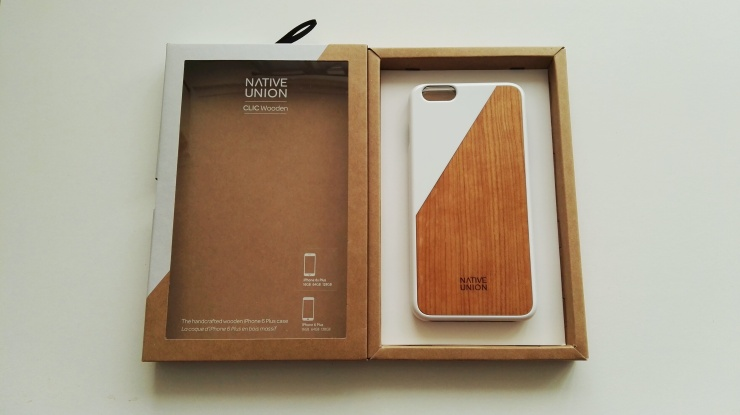 Funda de madera Native Union para iPhone 6s Plus 04
