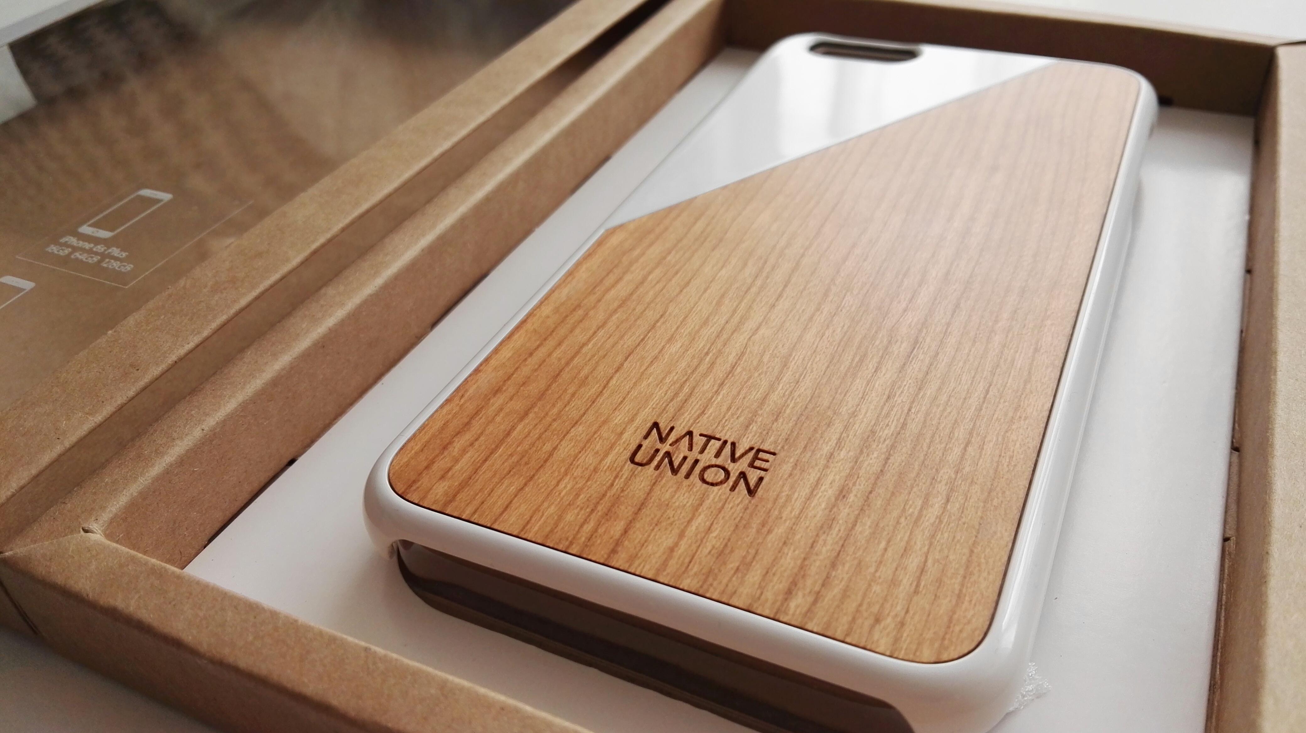 Funda de madera Native Union para iPhone 6s Plus 05
