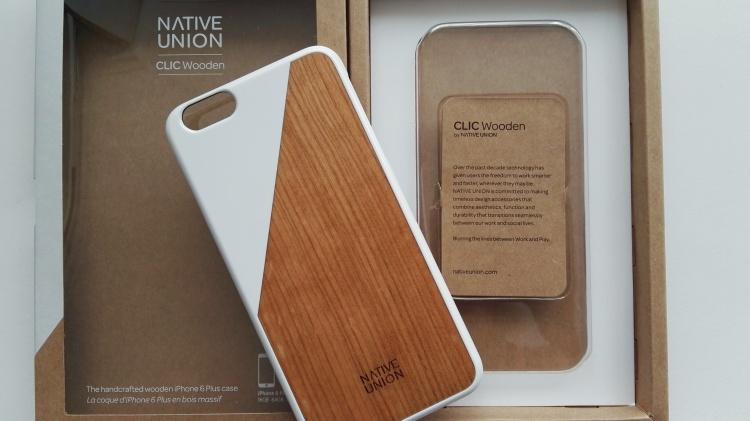 Funda de madera Native Union para iPhone 6s Plus 06