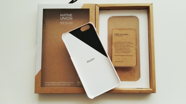 Funda de madera Native Union para iPhone 6s Plus 07