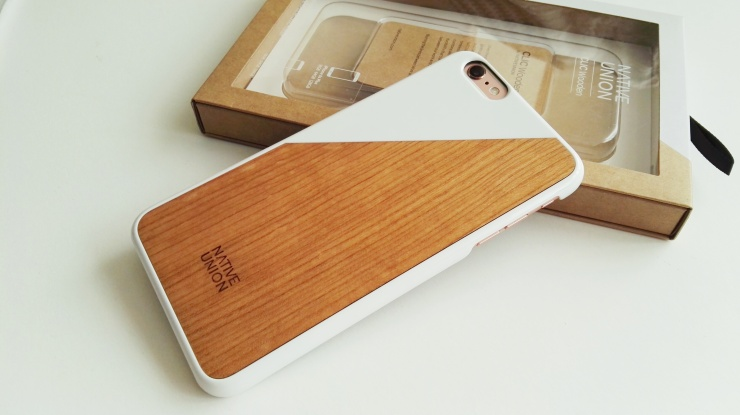 Funda de madera Native Union para iPhone 6s Plus 08