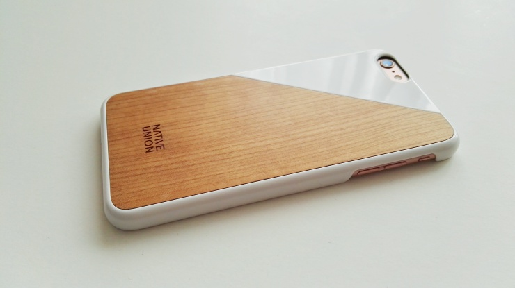 Funda de madera Native Union para iPhone 6s Plus 09