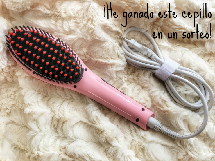 Cepillo Fab Tech Brush rosa destacada