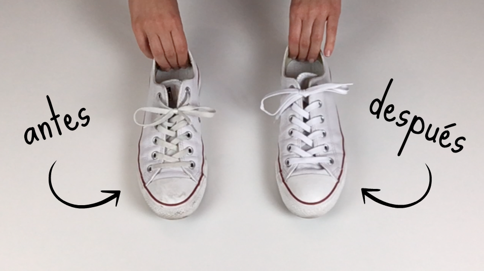 como lavar converse blancas a mano