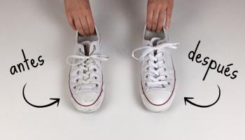 por inadvertencia Continuación Gimnasio  Cómo limpiar las punteras y bordes de goma de las zapatillas – La bruja con  tacón de aguja