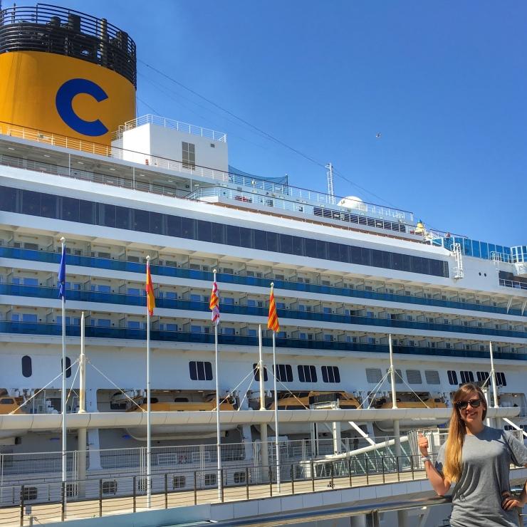 Crucero Costa Fascinosa 2016