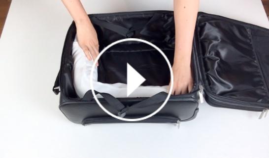 Ver en Cosmo cómo doblar camisas para que no se arruguen en la maleta