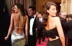 Vestidos con escotes de espalda originales