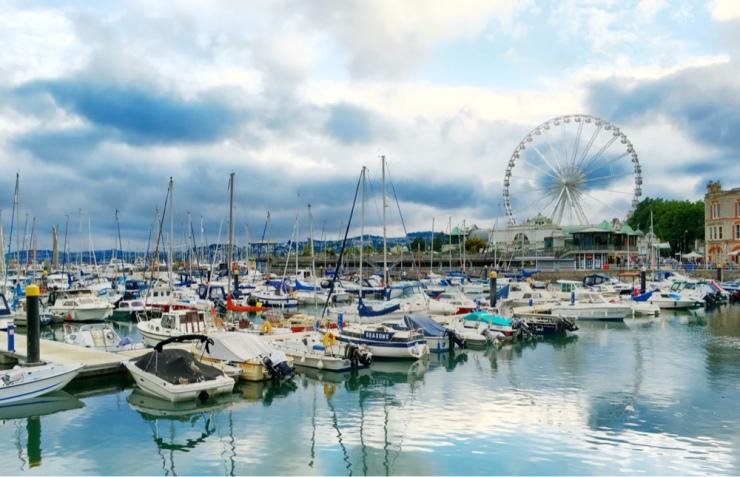 El puerto de Torquay