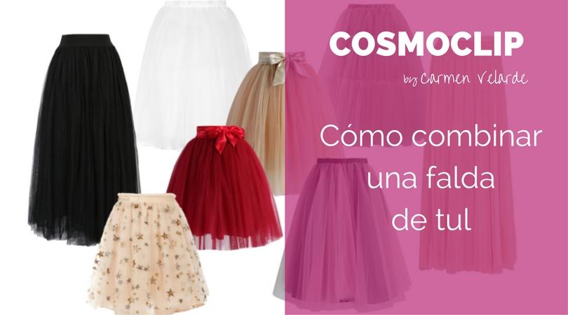Cosmoclip faldas de tul
