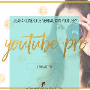 Ximena de la Serna curso YouTube Pro