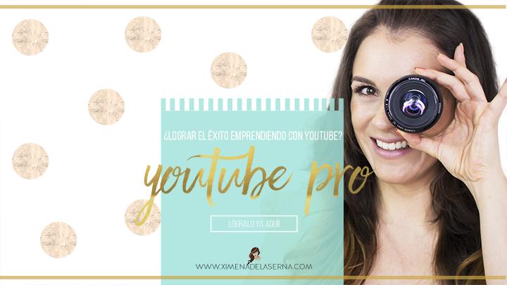 Youtube Pro Ximena de la Serna