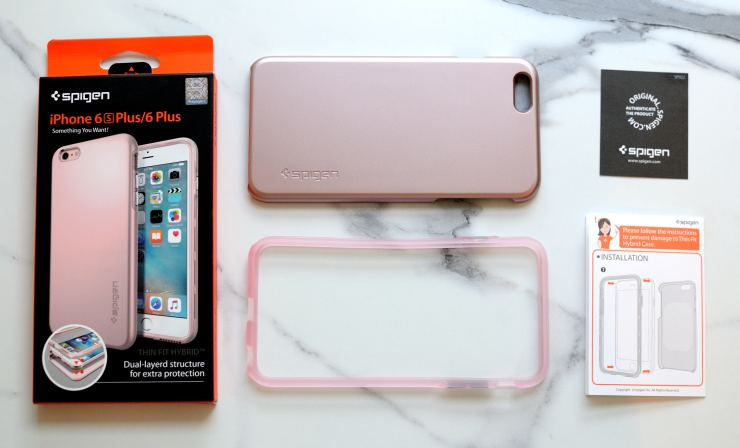 Review Spigen Thin Fit Hybrid