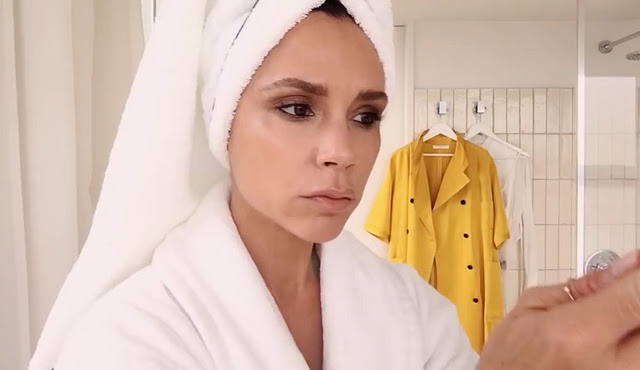 Victoria Beckham make up tutorial