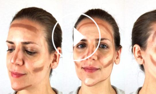 Ver en Cosmo el vídeo contouring según la forma de tu cara