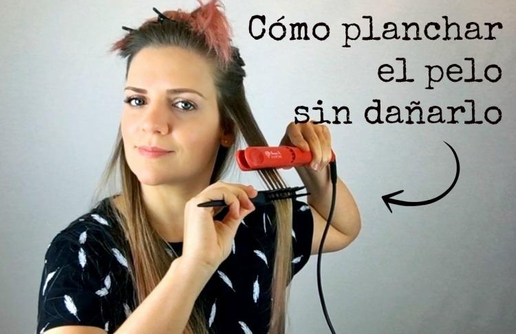 Cómo planchar el cabello sin estropearlo.jpg