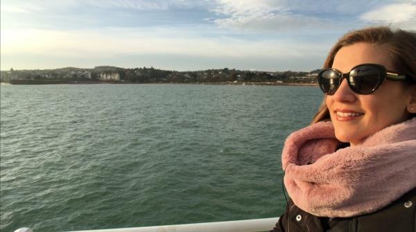 Paseo marítimo de Torquay Inglaterra