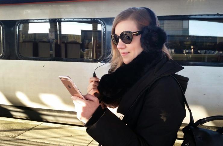 Orejeras con auriculares de Cellularline
